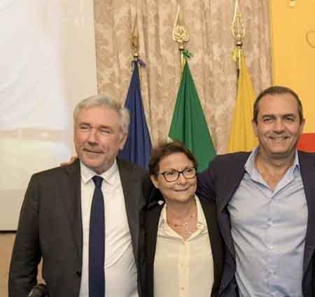 Enrico Panini, Monica Buonanno, Luigi de Magistris