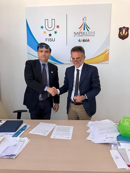 Gianluca Basile e Umberto De Gregorio