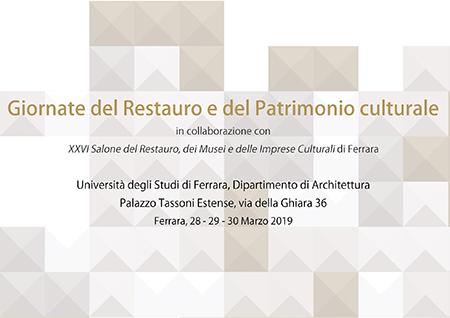 Giornate del Restauro e Patrimonio Culturale a Palazzo Tassoni Estense