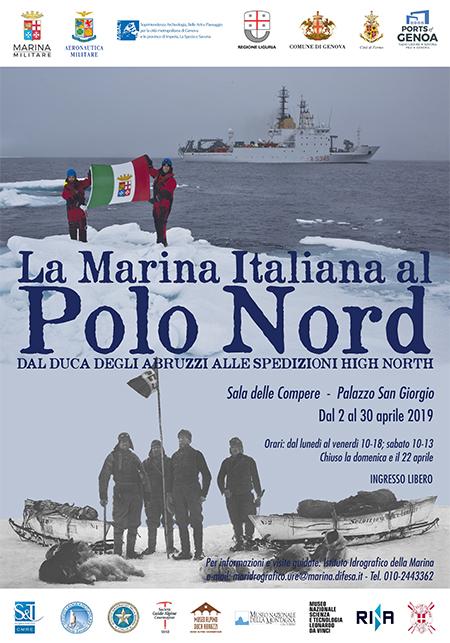 'La Marina Italiana al Polo Nord'