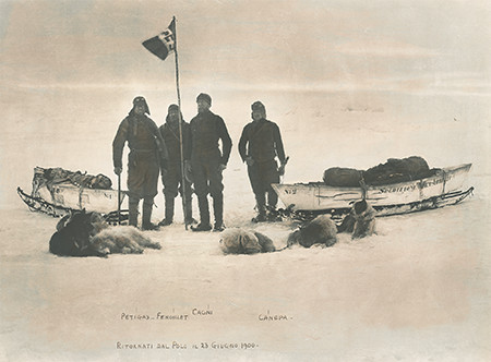 'La Marina Italiana al Polo Nord' ph. Marina Militare