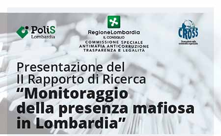 'Il monitoraggio della presenza mafiosa in Lombardia'