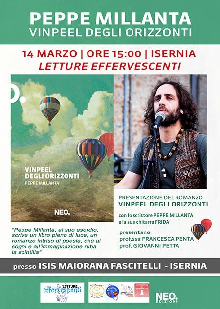 Peppe Millanta a 'Letture Effervescenti' ISIS Majorana - Fascitelli di Isernia