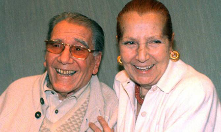 Pietro De Vico e Anna Campori