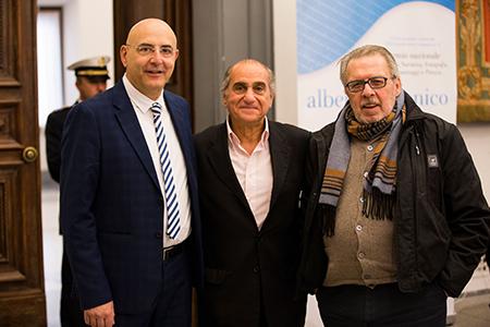Pino Acquafredda, Pino Ammendola e Pino Scaccia
