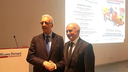 Walter Artibani e Piero Ferrari