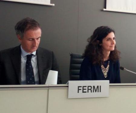 Alessandro Fermi e Marianna Sala