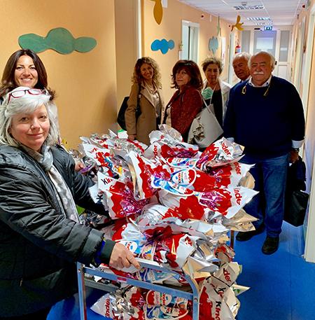 ANRC ad ospedale Santobono Pausilipon di Napoli