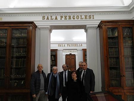 Bruno Discepolo, Marco Salvatore, Michele Nitti, Marta Columbro e Carmine Santaniello