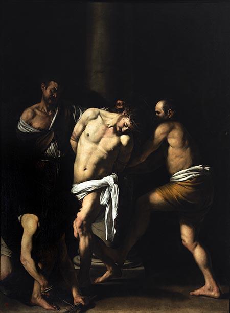 Caravaggio 'Flagellazione di Cristo' a Capodimonte