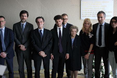 Commemorazione vittime Palazzo Pirelli