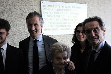commemorazione delle vittime della tragedia aerea di Palazzo Pirelli, Milano