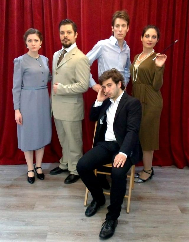 Compagnia Teatrale Eleftherìa 'Non si sa come'