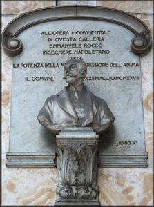 Emanuele Rocco Galleria Umberto I Napoli