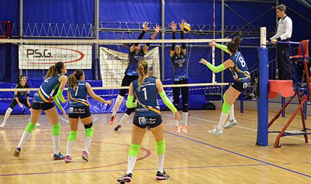 Luvo Barattoli Arzano e Giò Volley Aprilia