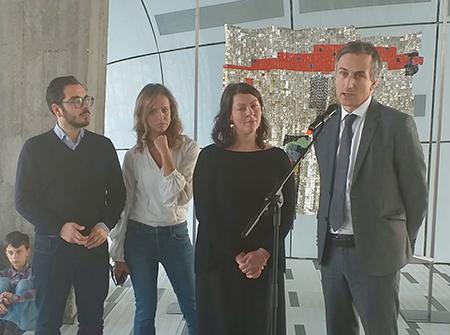 mostra internazionale di fiber art a Palazzo Pirelli Milano