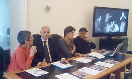 Stefania Ugatti, Michele Faiella, Rosa Carafa e Antonio Giordano