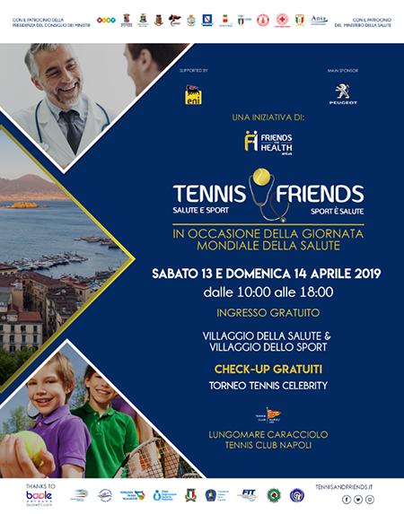 'Tennis & Friends – Salute e Sport … Sport è Salute'