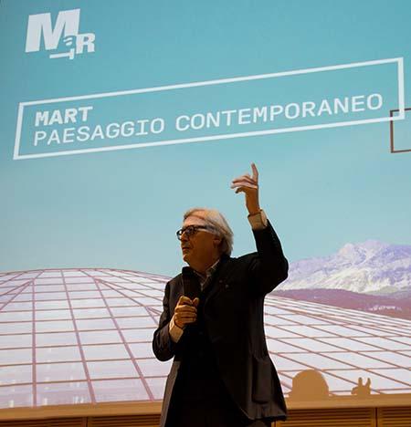 Vittorio Sgarbi, Presidente del MART