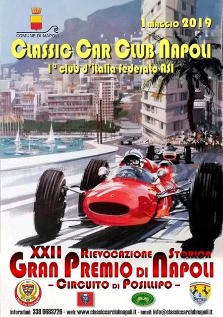 XXII Rievocazione Storica del Gran Premio Napoli - Circuito di Posillipo