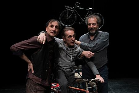 Barovero Maccagno Favetto in 'Fausto Coppi' ph Andrea Macchia