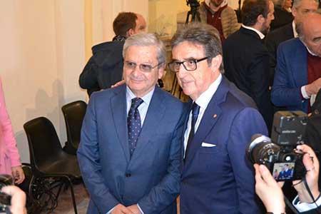 Floriano Panza e Riccardo Cotarella