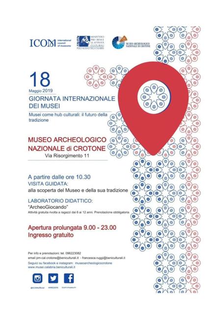 Giornata internazionale dei musei 2019