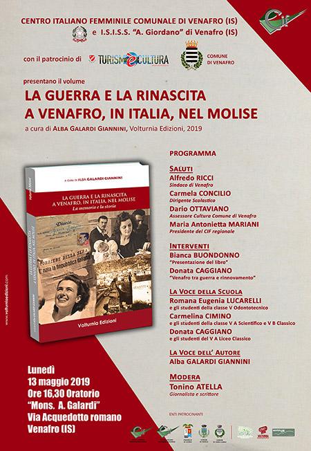 'La guerra e la rinascita - A Venafro, in Italia, nel Molise' di Alba Galardi Giannini
