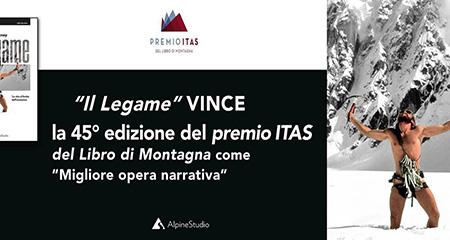 'Il Legame' vince edizione 45 del Premio ITAS del Libro di Montagna