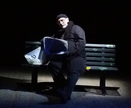 Lucio Allocca in 'Chiacchiere al parco'