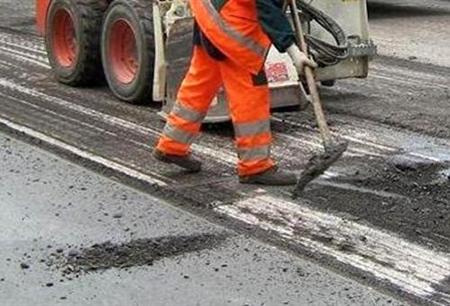 manutenzione strada