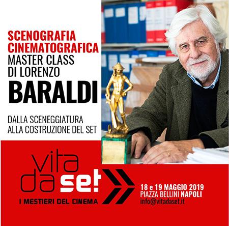 Master Class di Scenografia Cinematografica di Lorenzo Baraldi