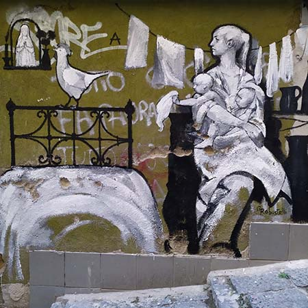 Murale di Giovanni Robustelli