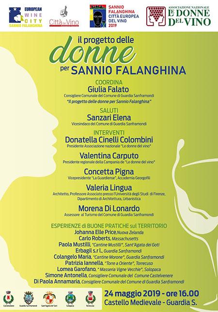 Il progetto delle donne per Sannio Falanghina
