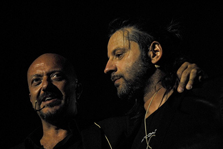 Roberto Pedicini e Christian Iansante