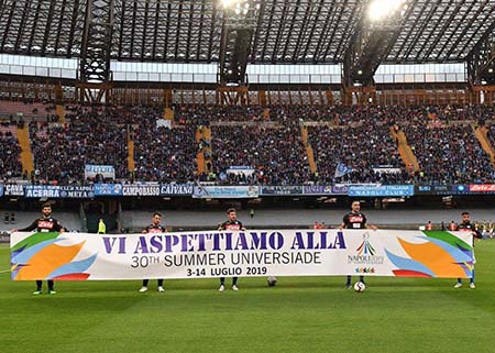 Universiade Stadio San Paolo Napoli