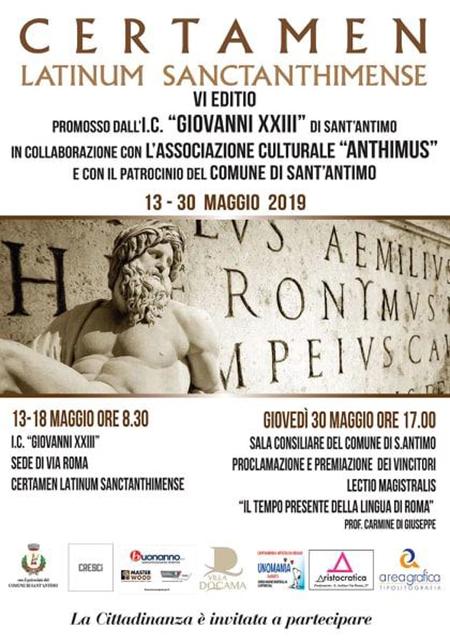 VI edizione del Certamen Latinum Sanctanthimense