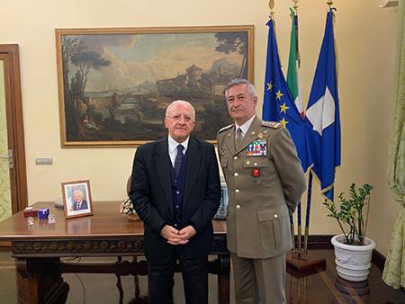 Vincenzo De Luca e Giuseppenicola Tota