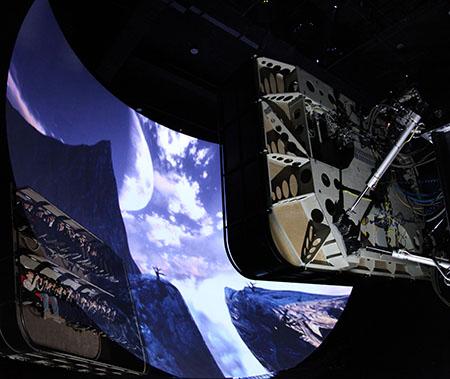 Volarium il Cinema volante a Cinecittà World