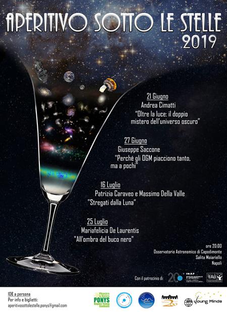 Aperitivo sotto le stelle 2019