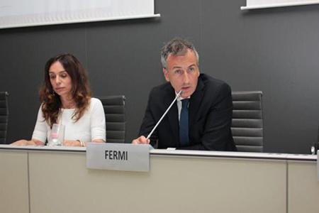 Barbara Mazzali e Alessandro Fermi
