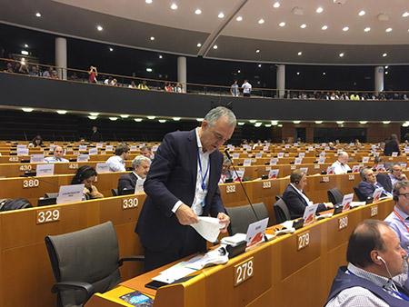Enrico Rossi a Bruxelles