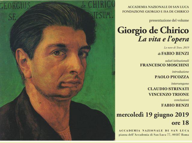 'Giorgio de Chirico. La vita e l'opera'