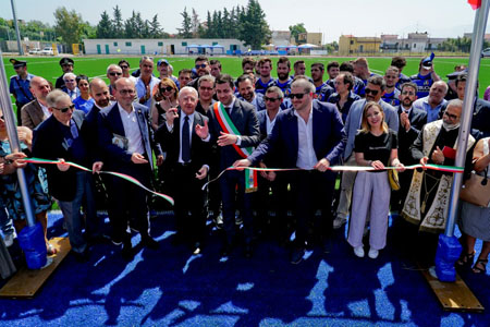 Inaugurazione campo rugby Boscotrecase