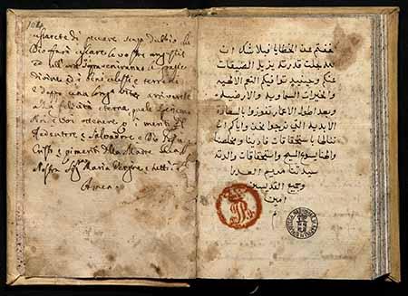 Orientalmanuscripts in Naples