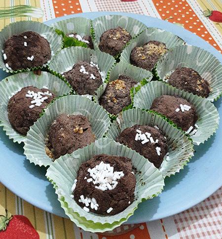Palline di cioccolata