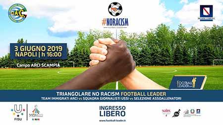 Triangolare di calcio a 7 'Football Leader No Racism',