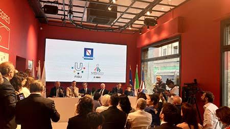 Universiade a 'Spazio Campania' a Milano