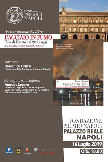 'L'acciaio in fumo – L'Ilva di Taranto dal 1945 a oggi' di Salvatore Romeo