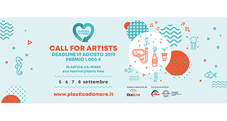 Call for Artists 'Plastica d'A-mare':